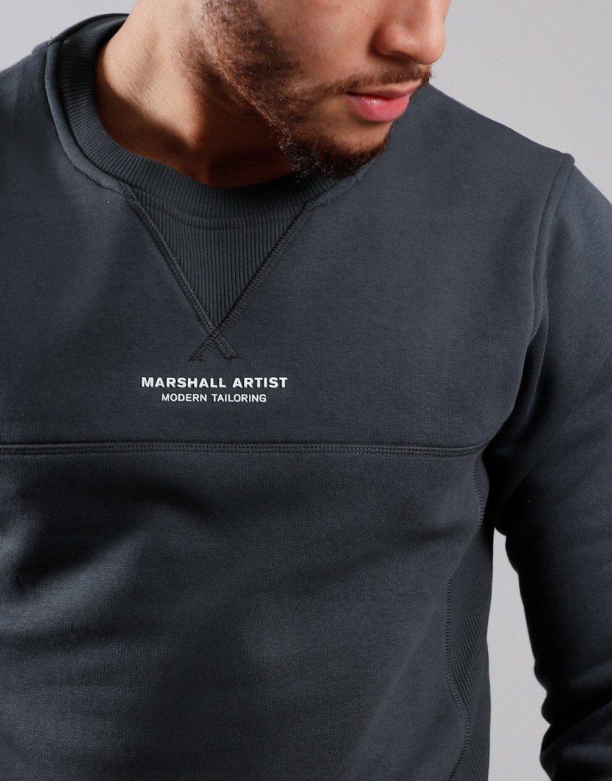 Marshall Artist Siren Crew Neck Sweat Charcoal