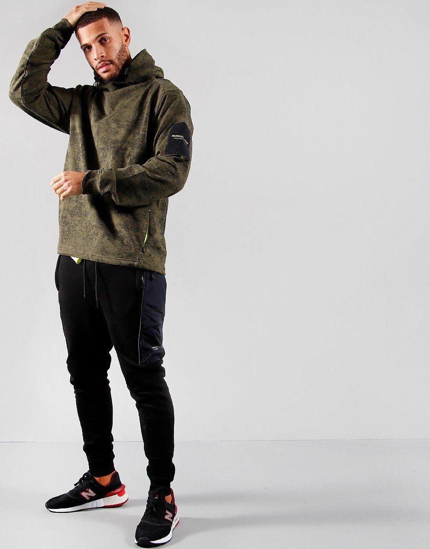 Marshall Artist Snow Camo OTH Hoodie Khaki
