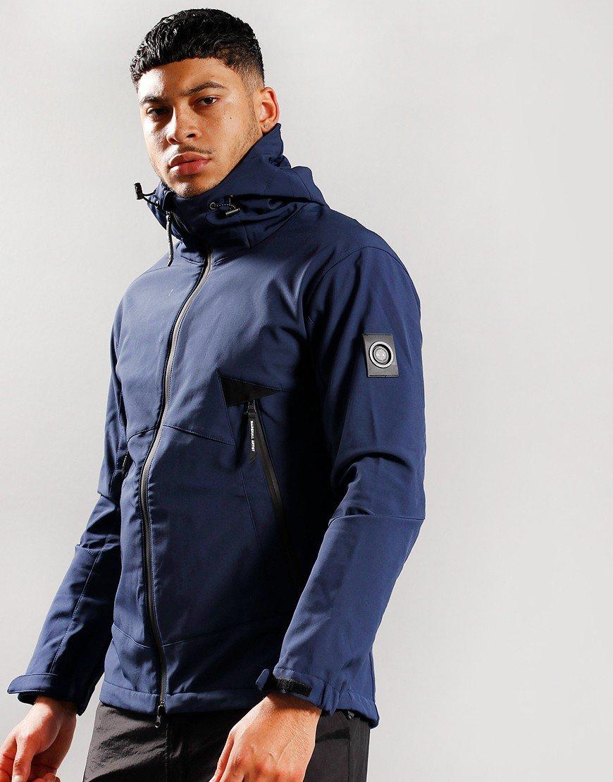 Marshall Artist Softshell Jacket Navy