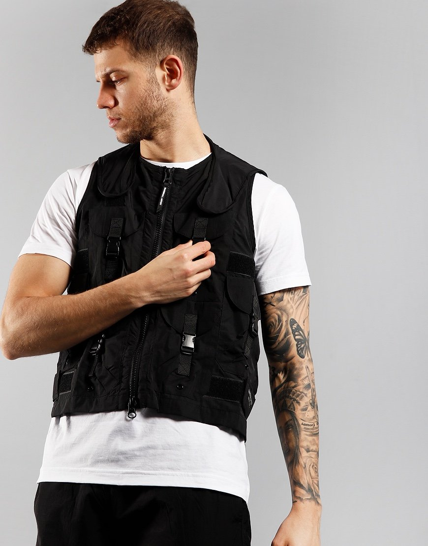 Marshall Artist Tactical Vest Black