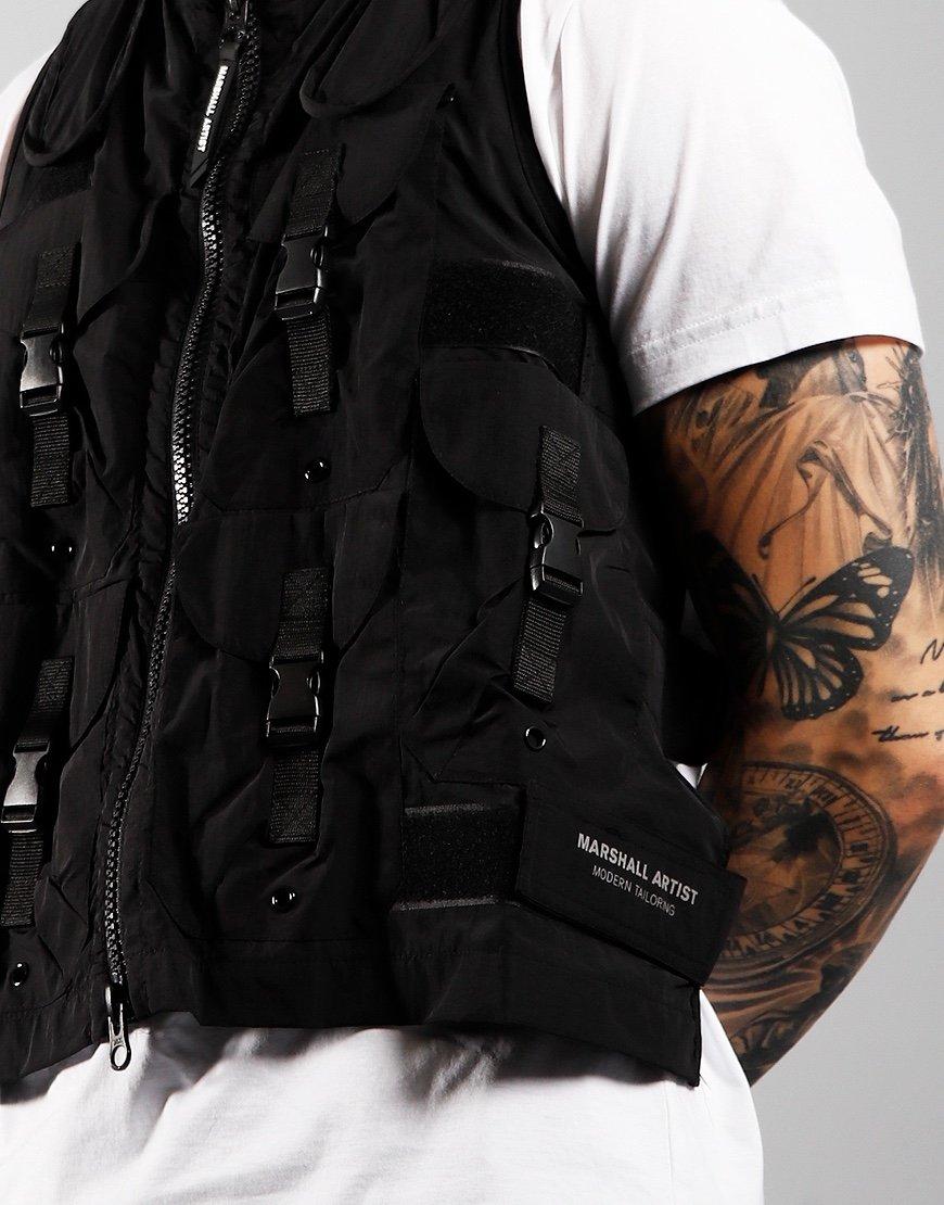 Marshall Artist Tactical Vest Black