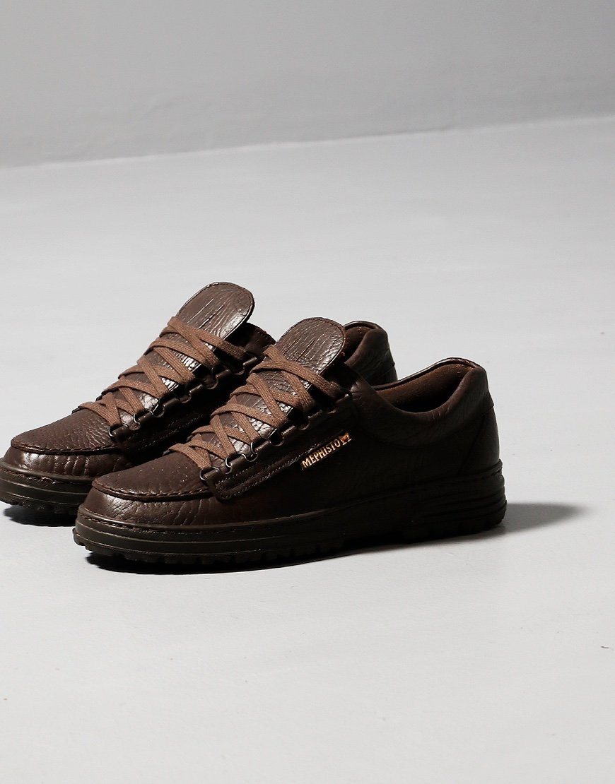 Mephisto Crusier Shoe Mammoth Dark Brown