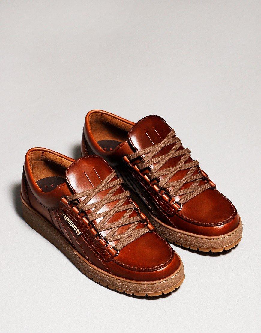 Mephisto Rainbow Heritage Shoes Chestnut