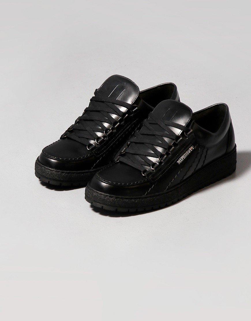 Mephisto Rainbow Heritage Shoes Black