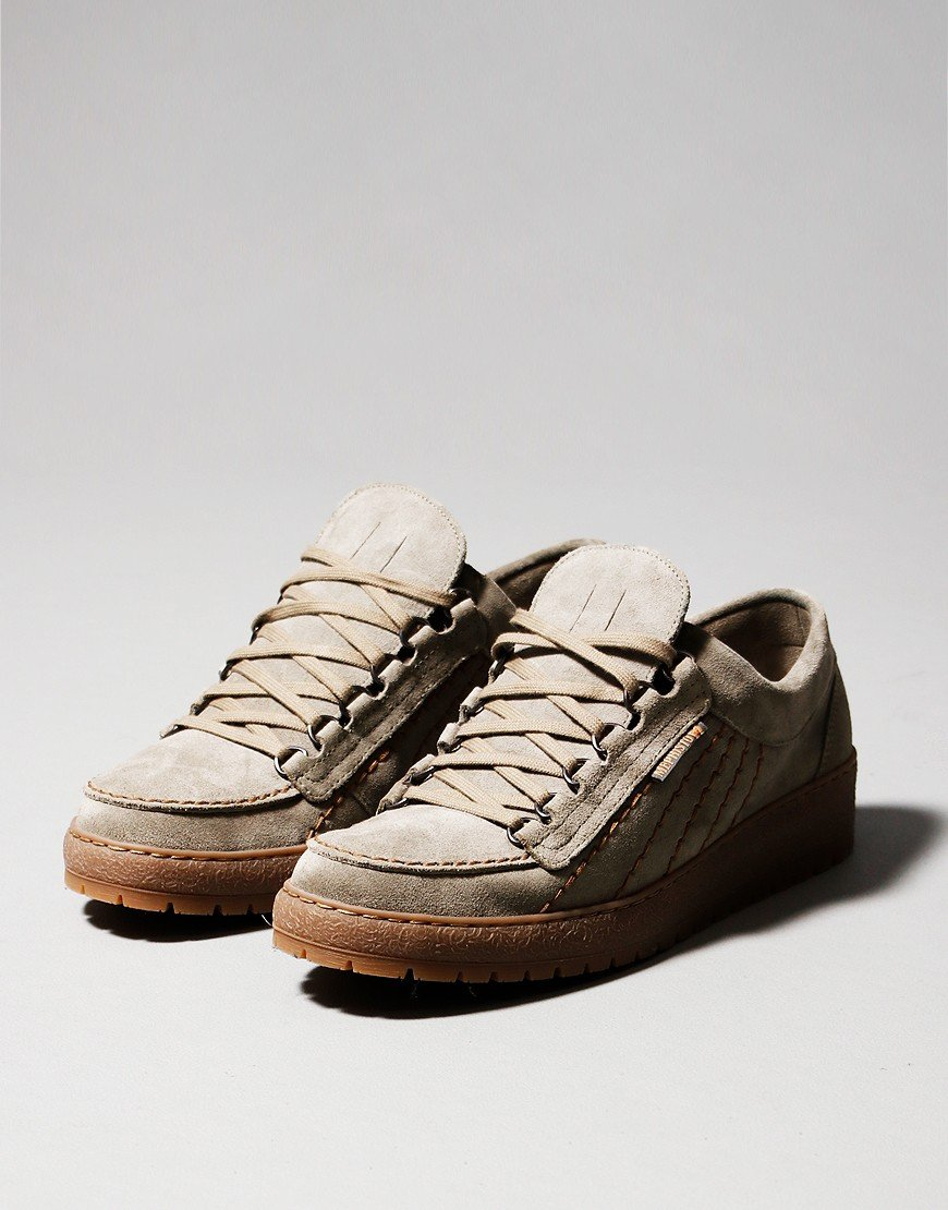 Mephisto Rainbow Heritage Shoes Light Khaki