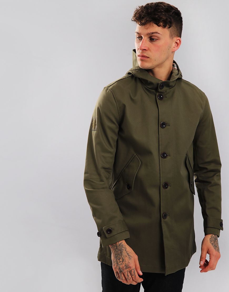 Pretty Green Millfield Jacket Khaki