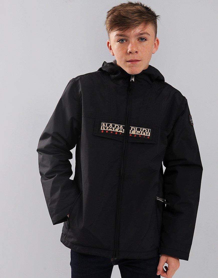 Napapijri Kids Rainforest Open Jacket Black