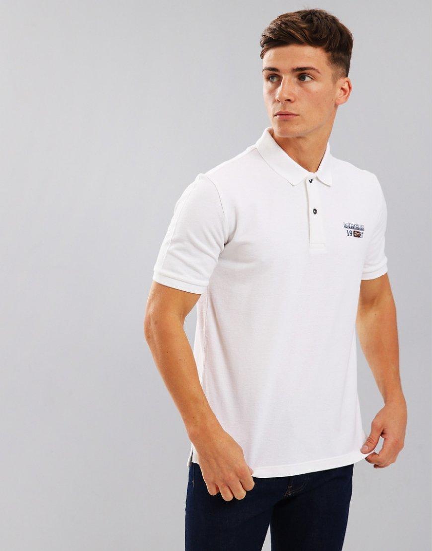 Napapijri Erthow Polo Shirt White