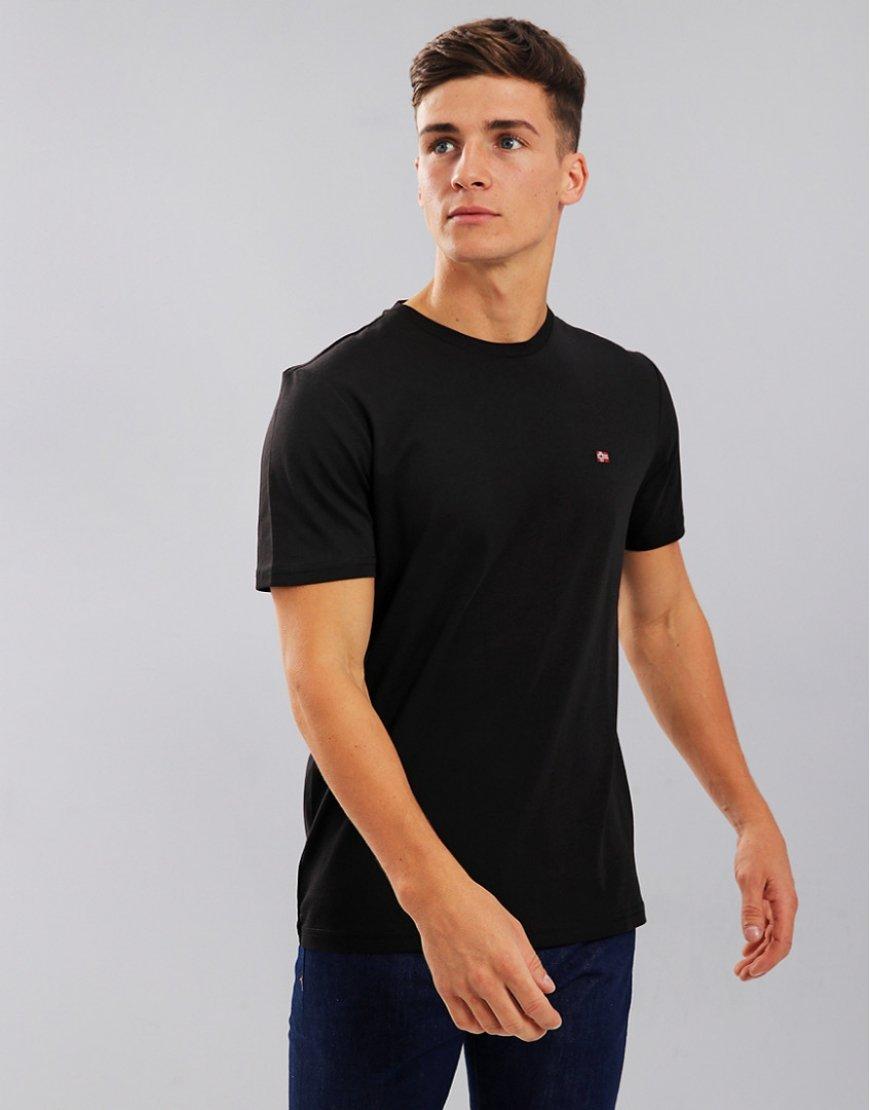 Napapijri Senoos Crew Neck T-Shirt Black