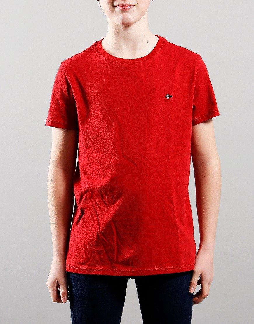 Napapijri Kids Salis T-Shirt Old Red