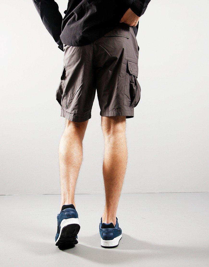 Napapijri Noto 4 Bermuda Shorts Dark Grey Solid