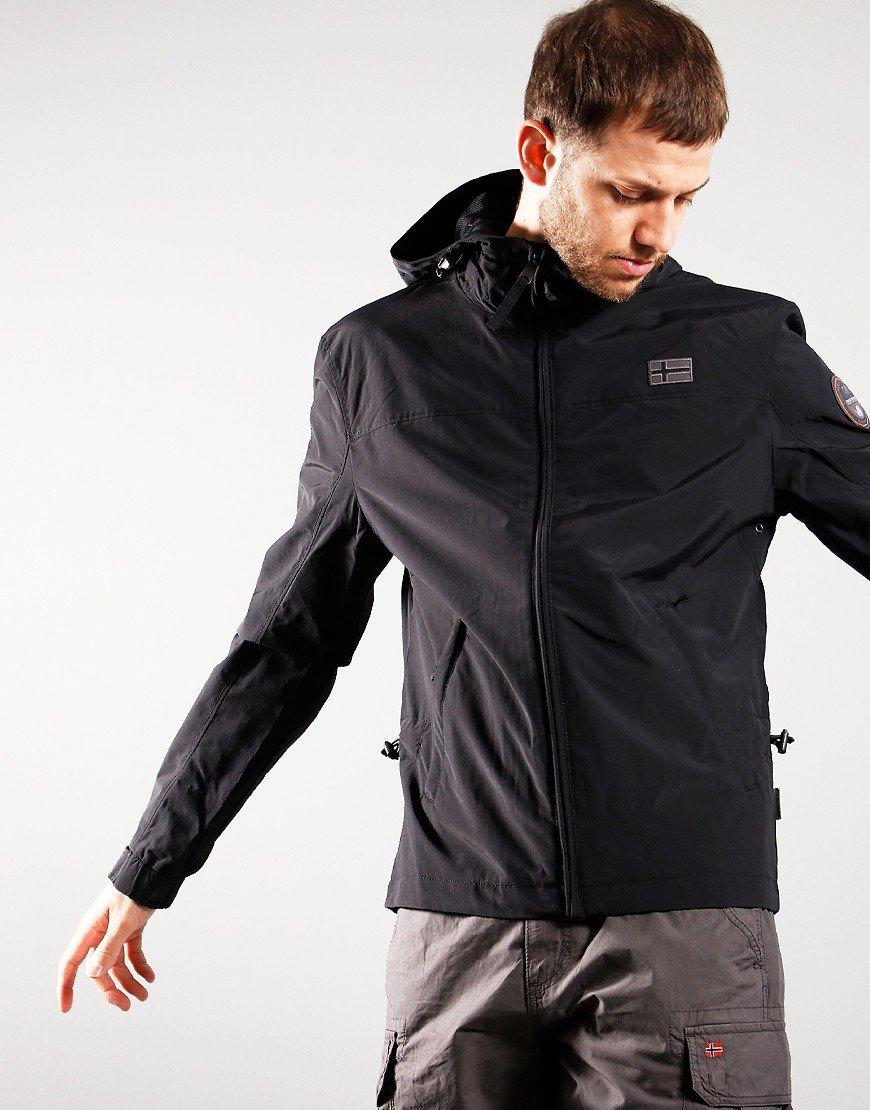Napapjiri Shelter Hooded  Jacket Black