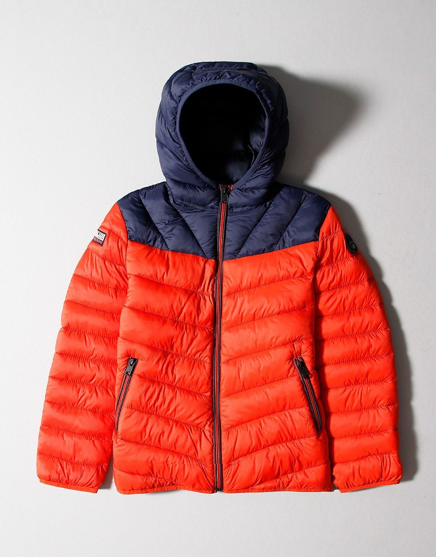 Napapijri Kids Aerons Jacket Orange Clay