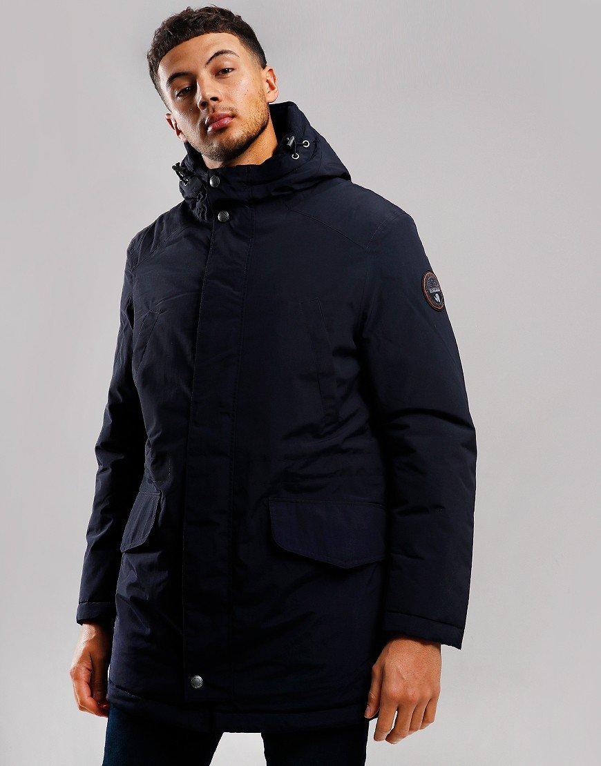 Napapijri Aberdar Parka Coat Blu Marine