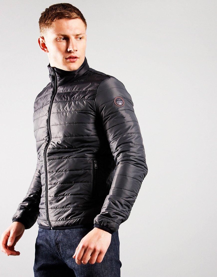 Napapijri Puffer Alcamar Jacket Dark Grey Solid