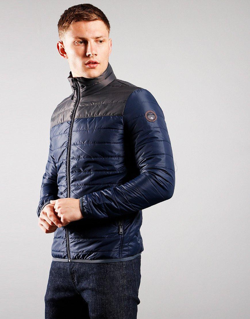Napapijri Puffer Alcamar Jacket Blu Marine