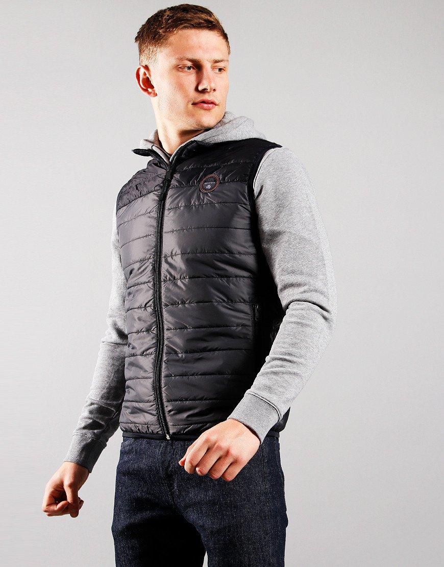 Napapijri Puffer Alcamar Vest Dark Grey Solid