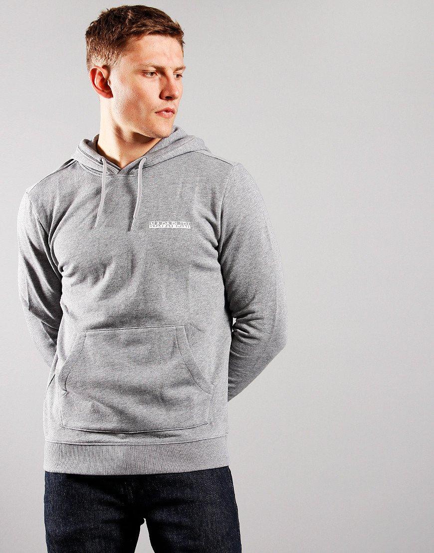 Napapijri B-Surf Hooded Sweat Medium Grey Melange