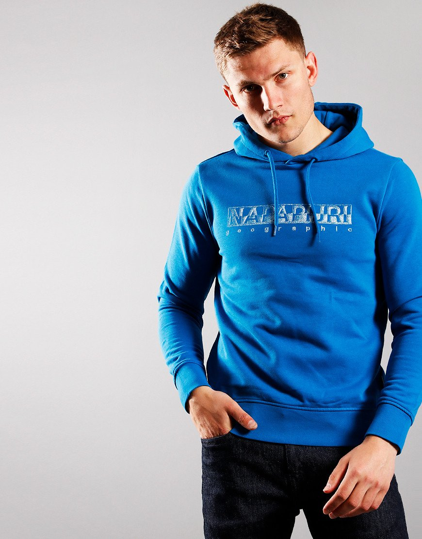 Napaijri Ballar Hooded Sweat Mykonos Blue