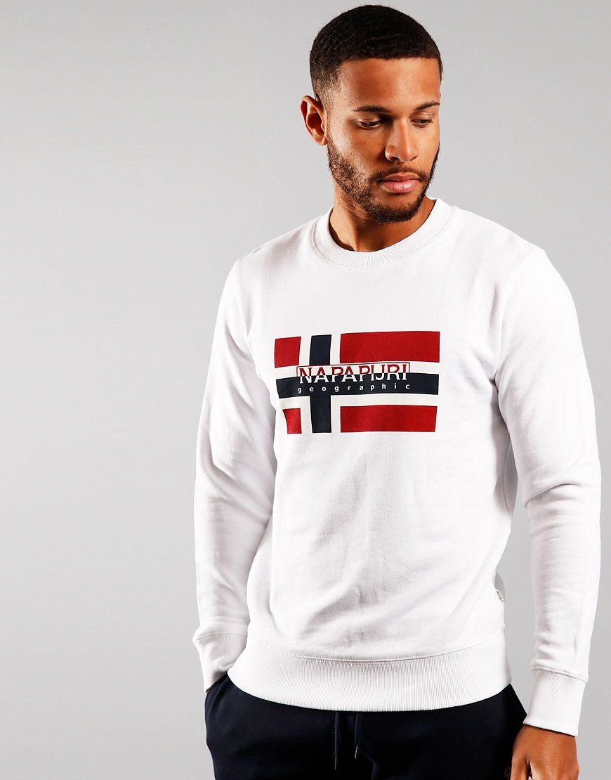 Napapijri Bovico Crew Sweat White