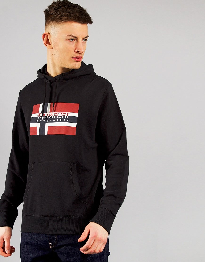 Napapijri Bovico Hooded Sweat Black