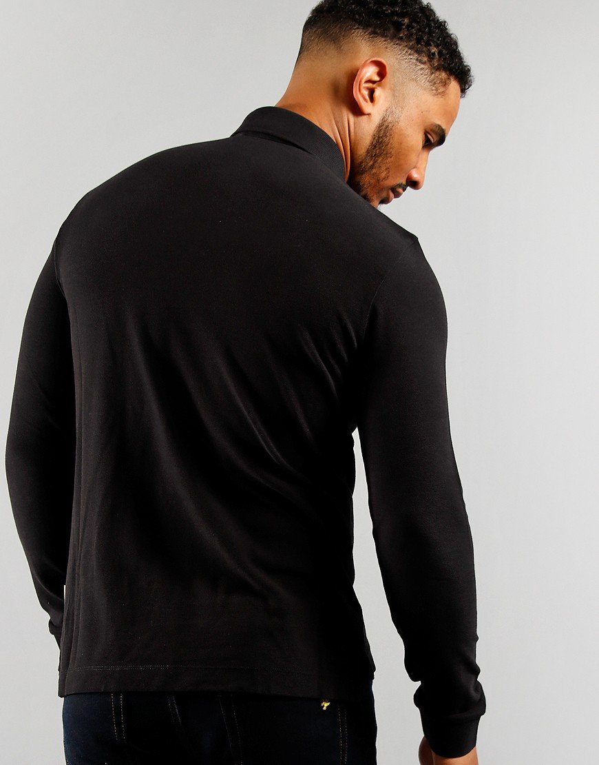Napapijri Ebir Long Sleeve Polo Black