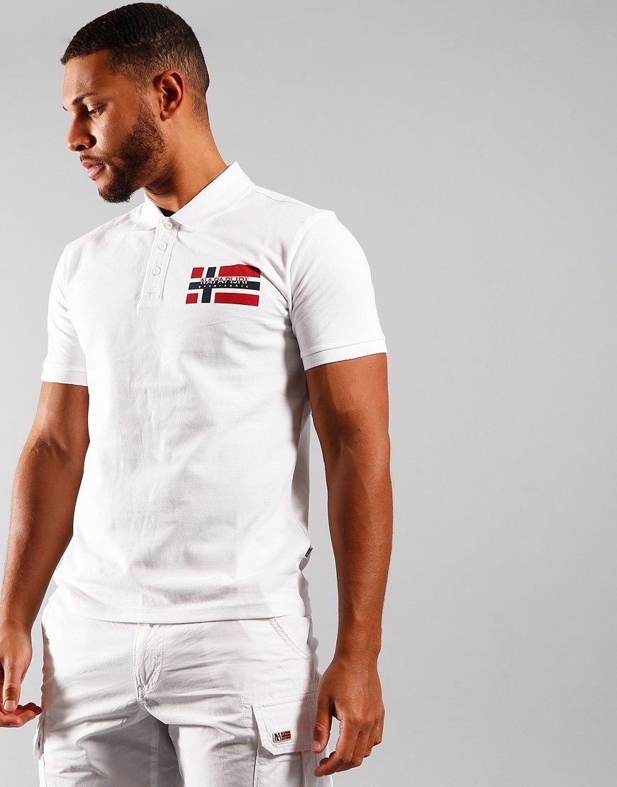 Napapijri Eovico Polo Shirt White