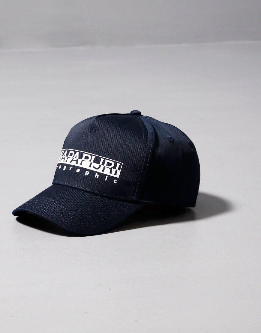 Napapijri Framing Baseball Cap Blu Marine