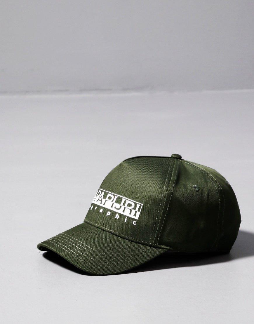Napapijri Framing Baseball Cap Green Way