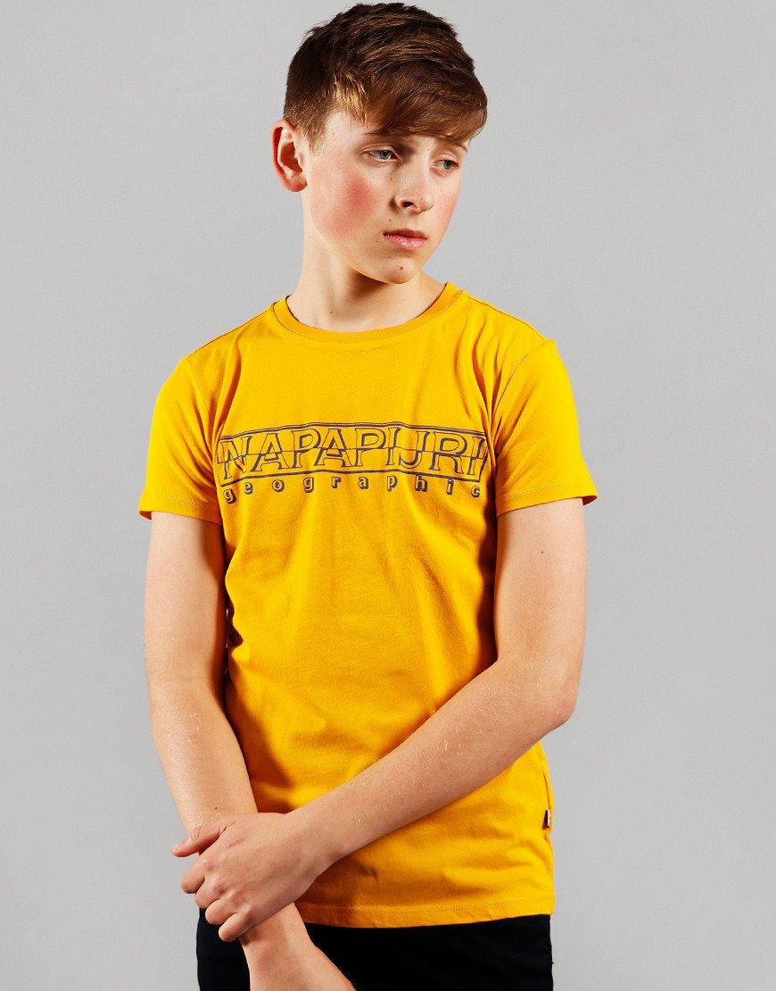 Napapijri Kids Soli T-Shirt Mango Yellow
