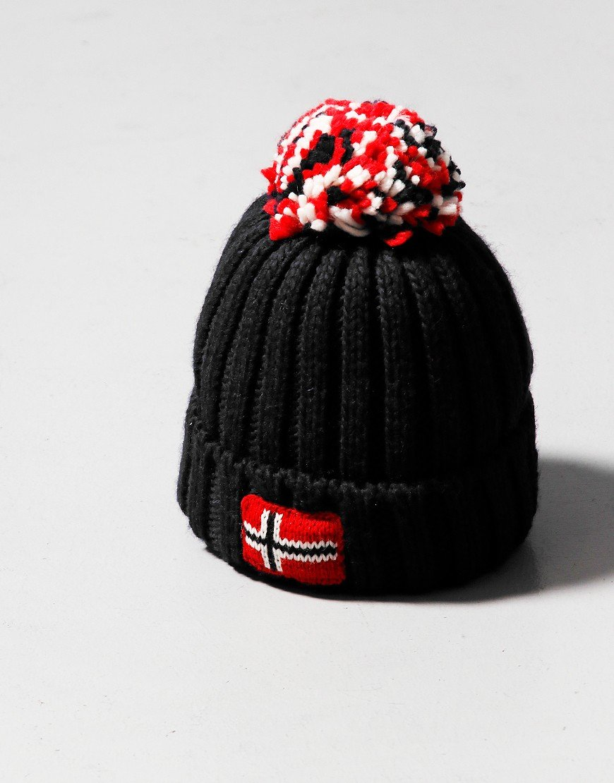 Napapijri Kids Semiury 4 Bobble Hat Black