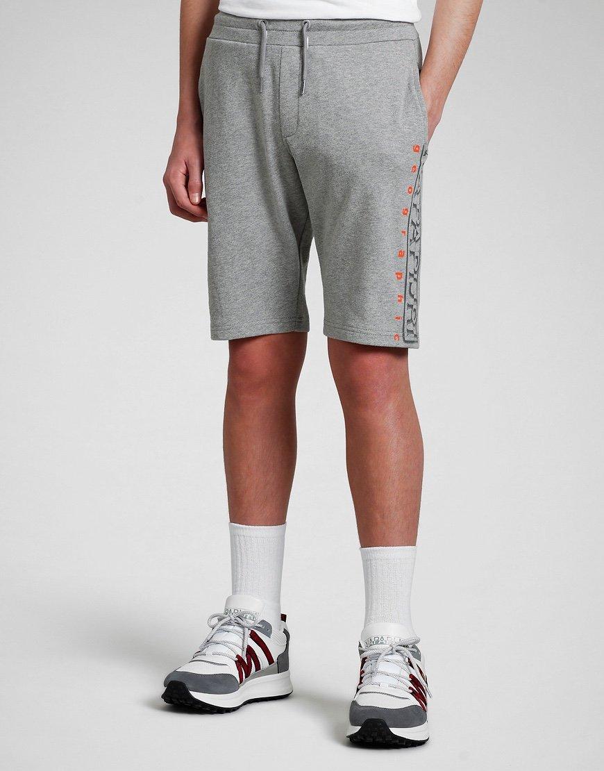 Napapijri Kids Naydr Sweat Shorts Mid Grey Marl
