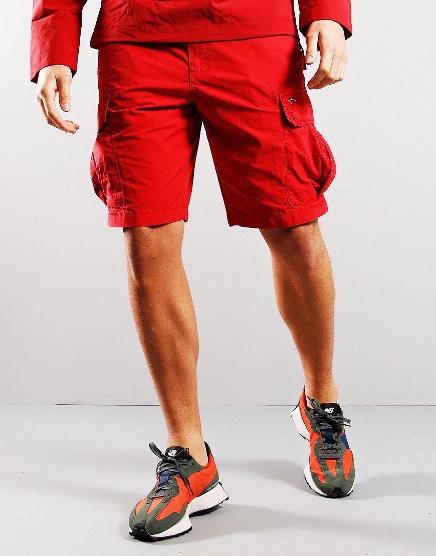 Napapijri Noto 4 Bermuda Shorts Old Red