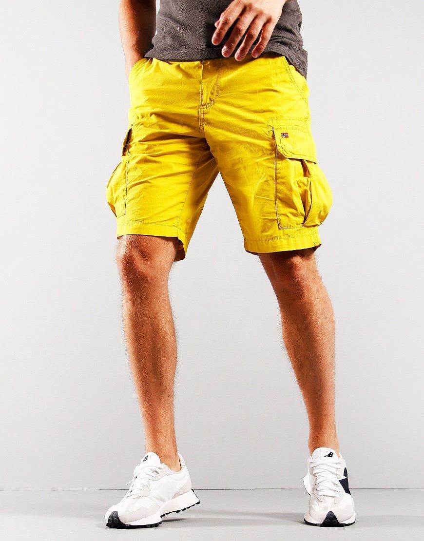 Napapijri Noto 4 Shorts Yellow