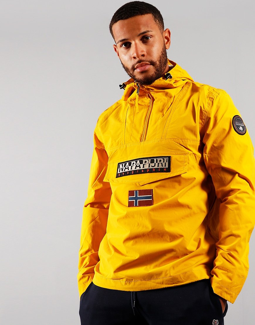 Napapijri Rainforest Summer Jacket Yellow