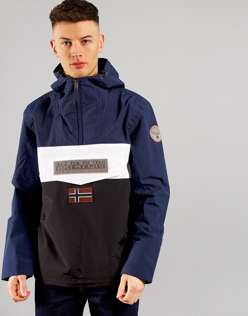 Napapijri Rainforest Summer Colour Block Jacket Black