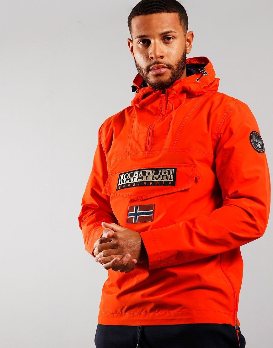 Napapijri Rainforest Summer Jacket Orangeade
