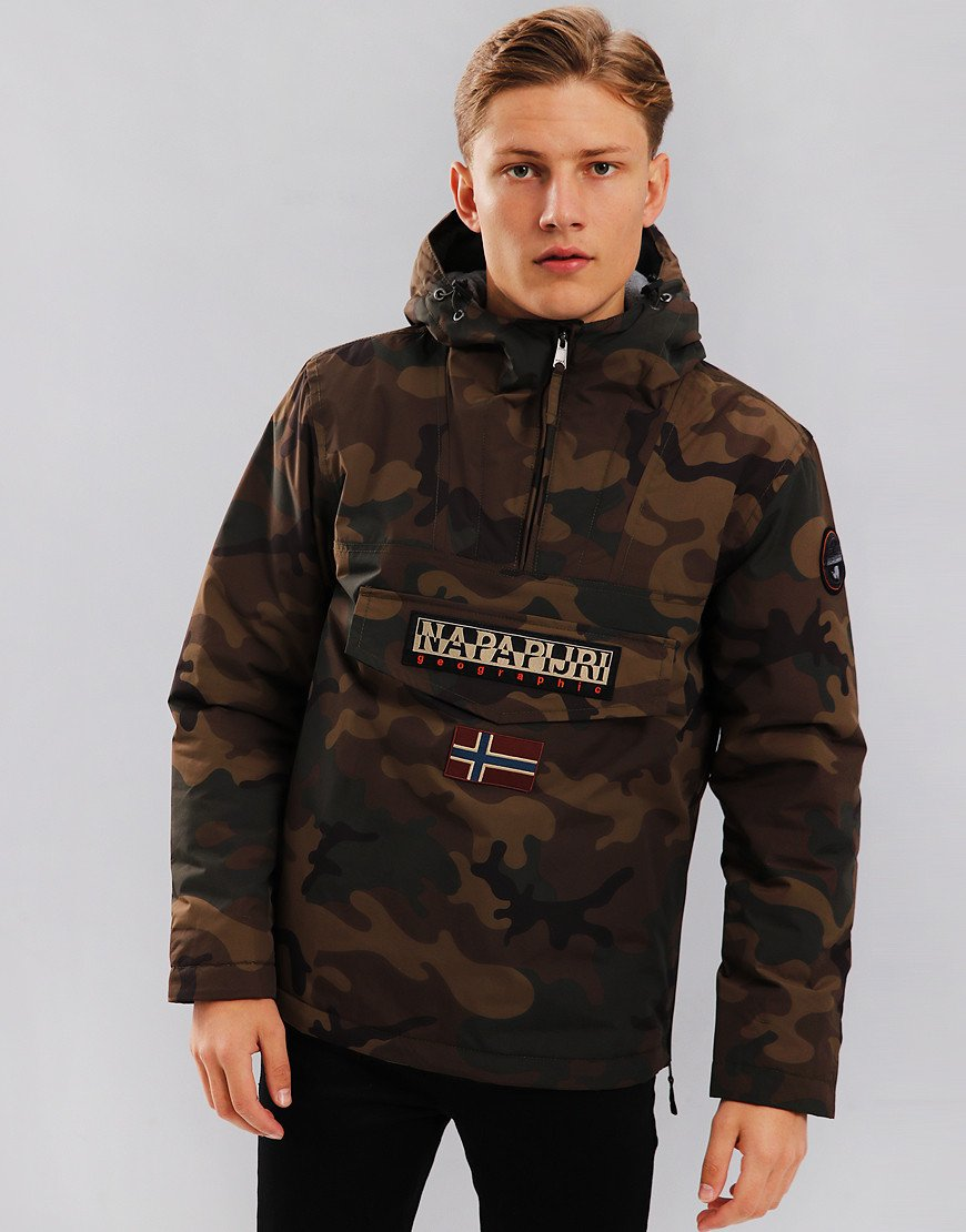Napapijri Rainforest Pocket Jacket Camouflage
