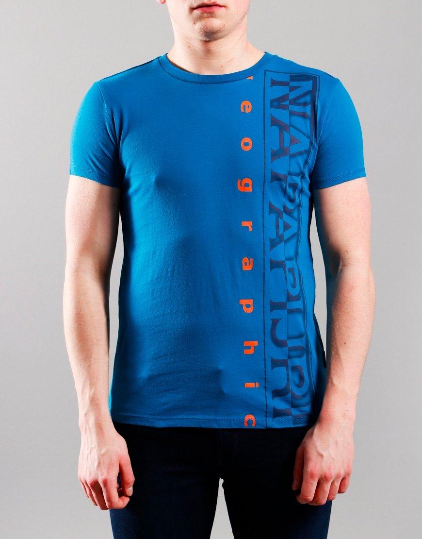 Napapijri Kids Sadyr T-Shirt Mykonos Blue