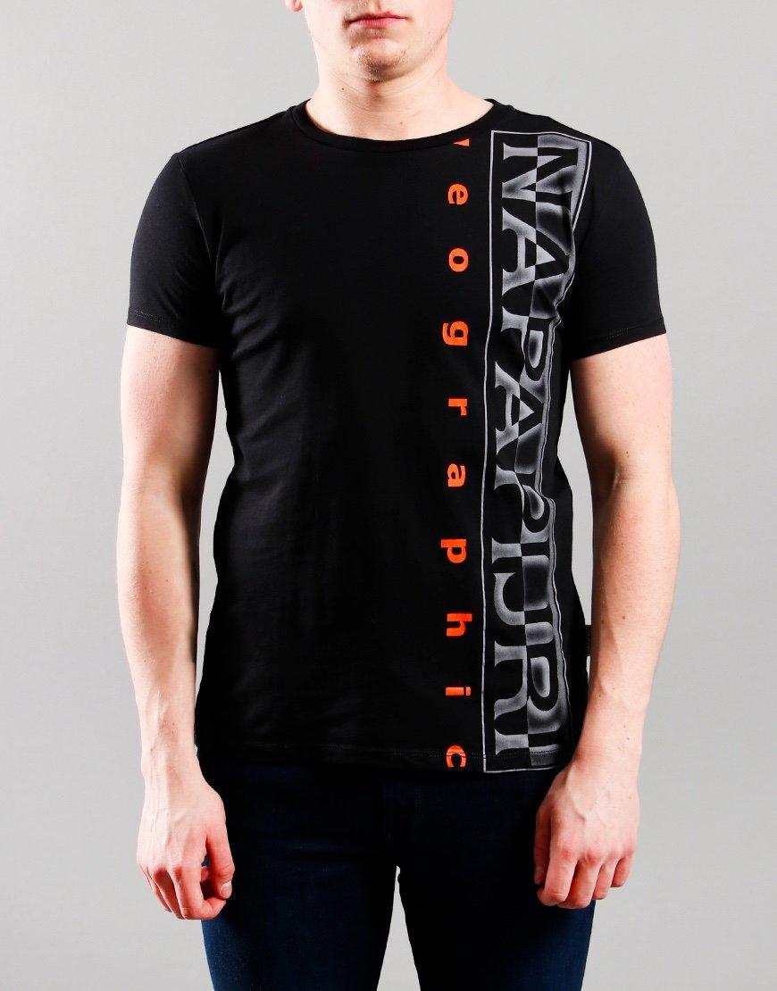 Napapijri Kids Sadyr T-Shirt Black