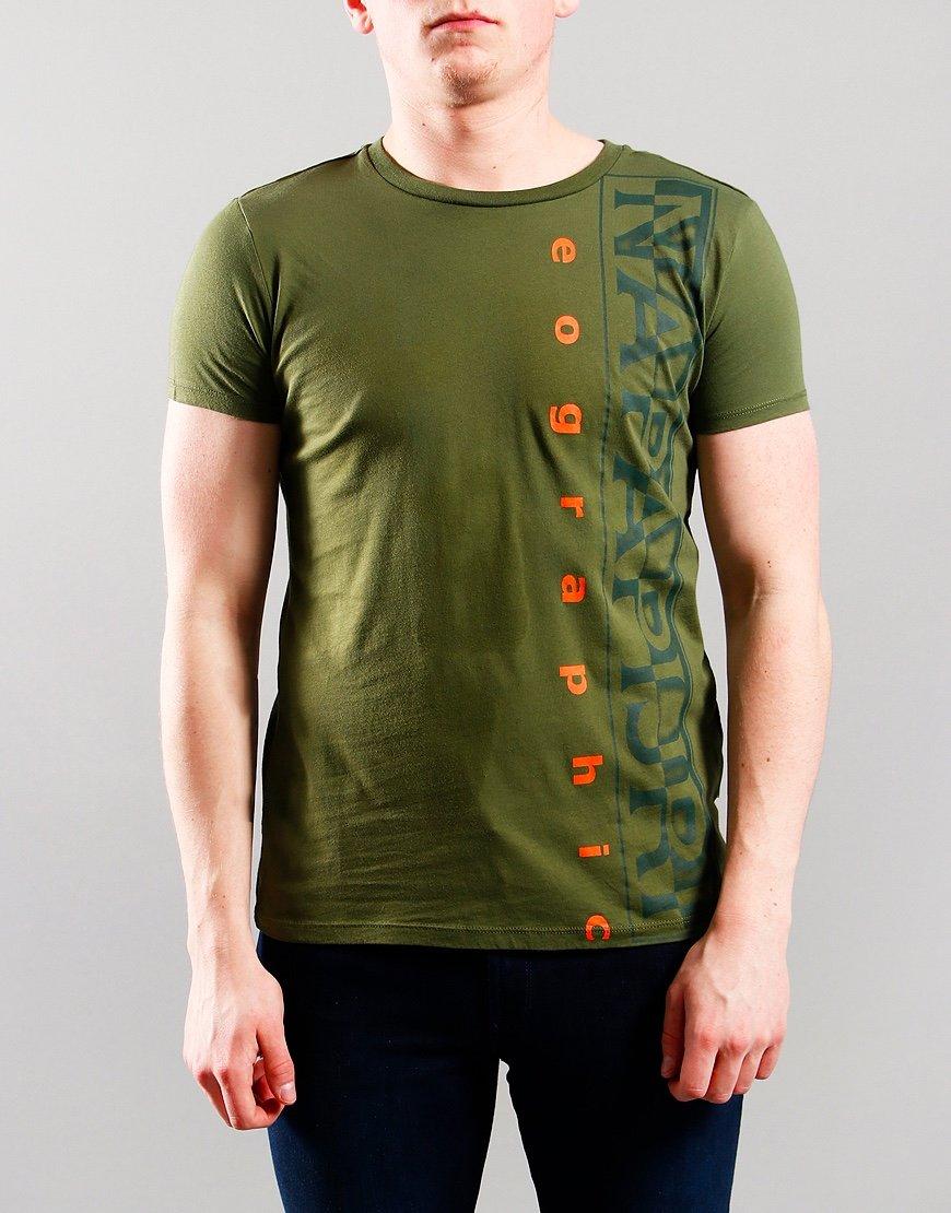 Napapijri Kids Sadyr T-Shirt Green Cypress