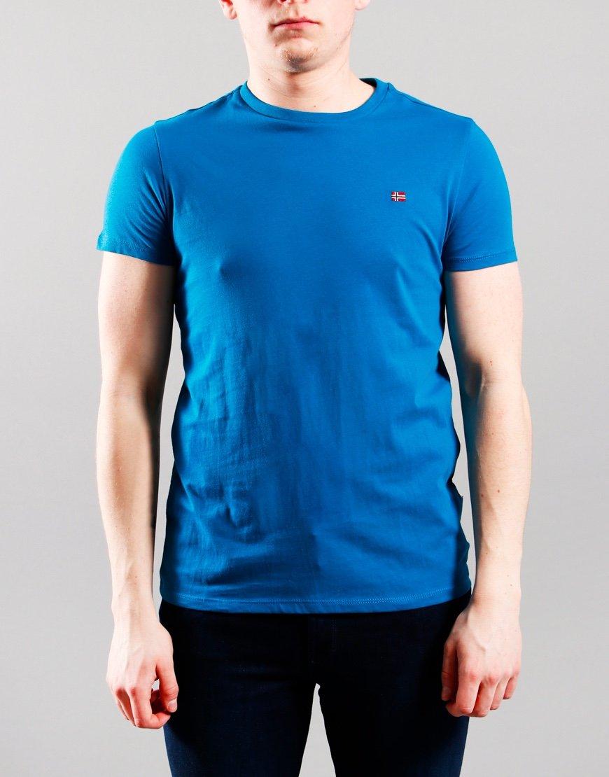 Napapijri Kids Salis T-Shirt Mykonos Blue