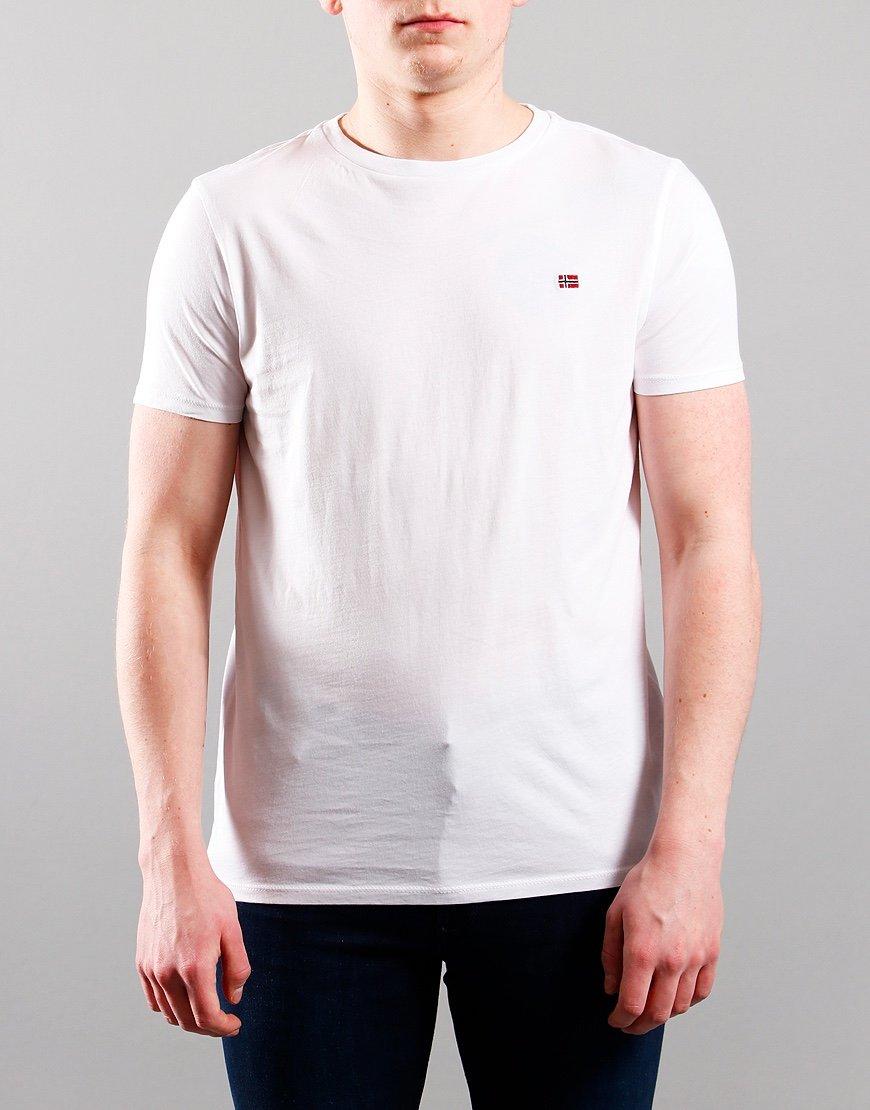 Napapijri Kids Salis T-Shirt Bright White