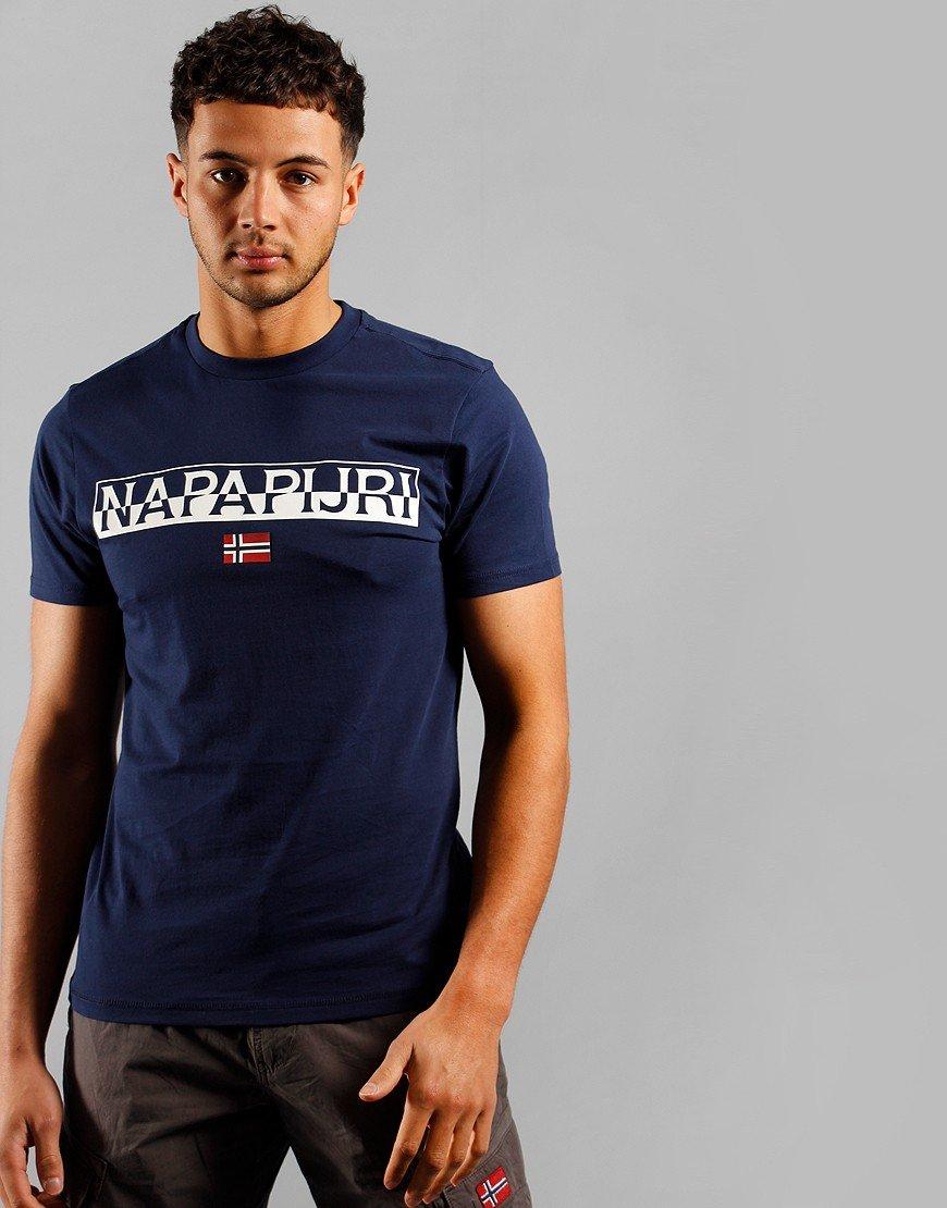 Napapijri Saras Solid T-shirt Medieval Blue
