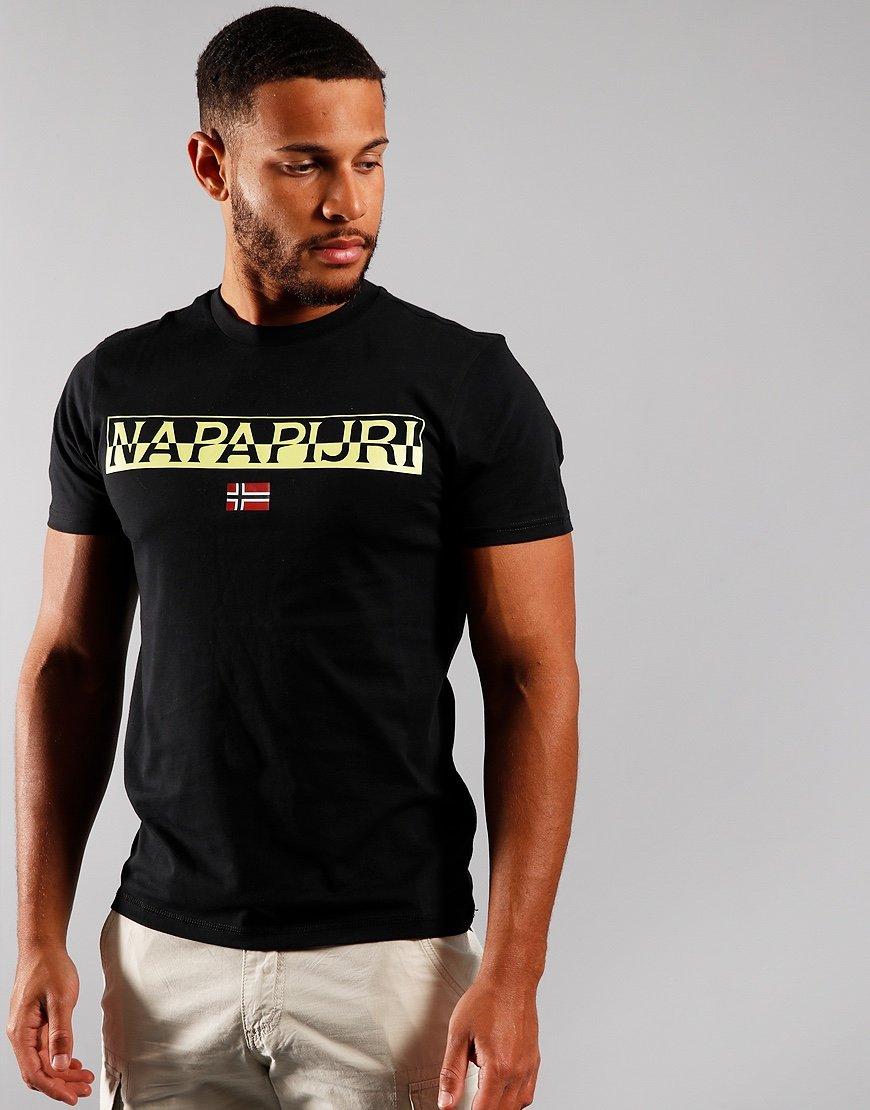 Napapijri Saras Solid T-shirt Black