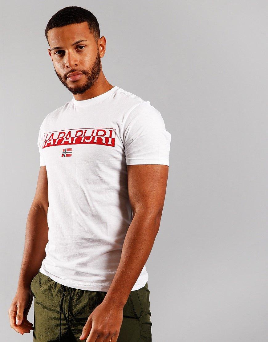 Napapijri Saras Solid T-shirt Bright White