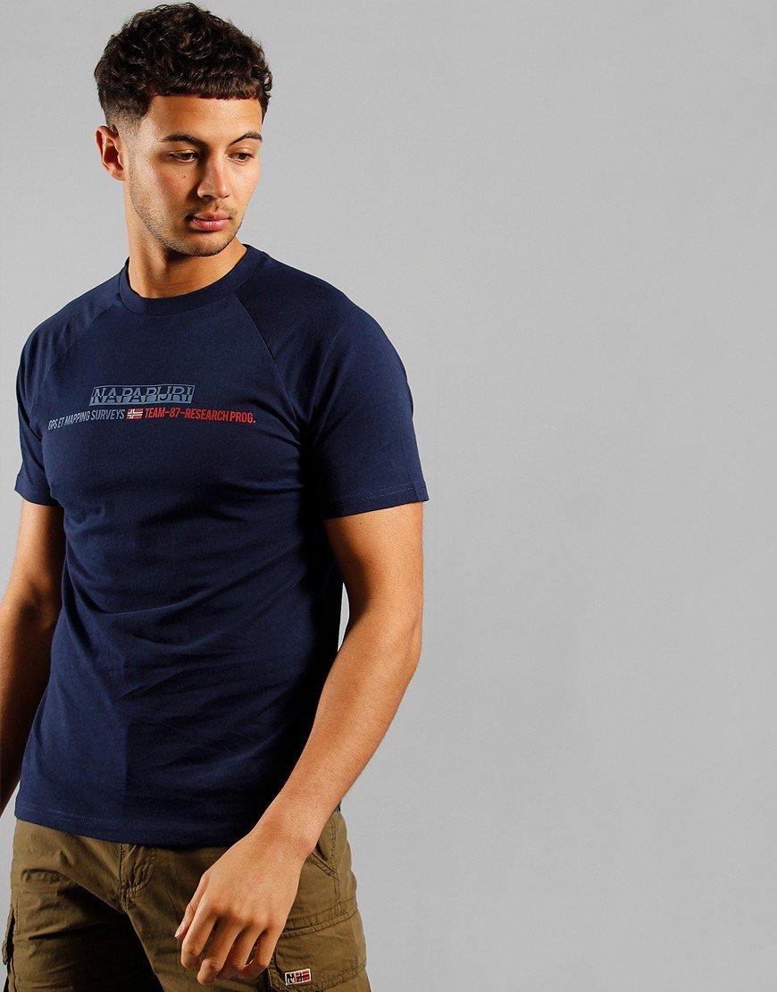Napapijri Sastia T-shirt Medieval Blue