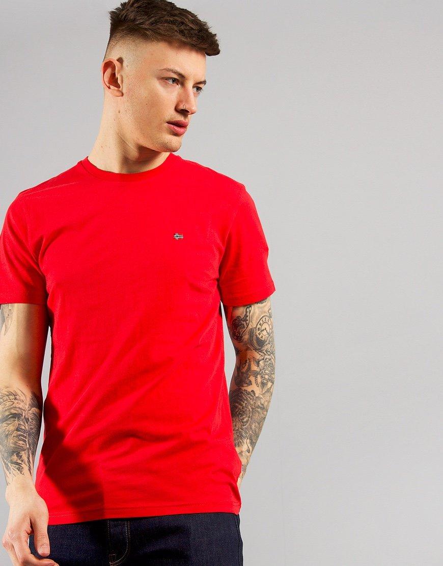 Napapijri Selios 2 T-shirt Bright Red