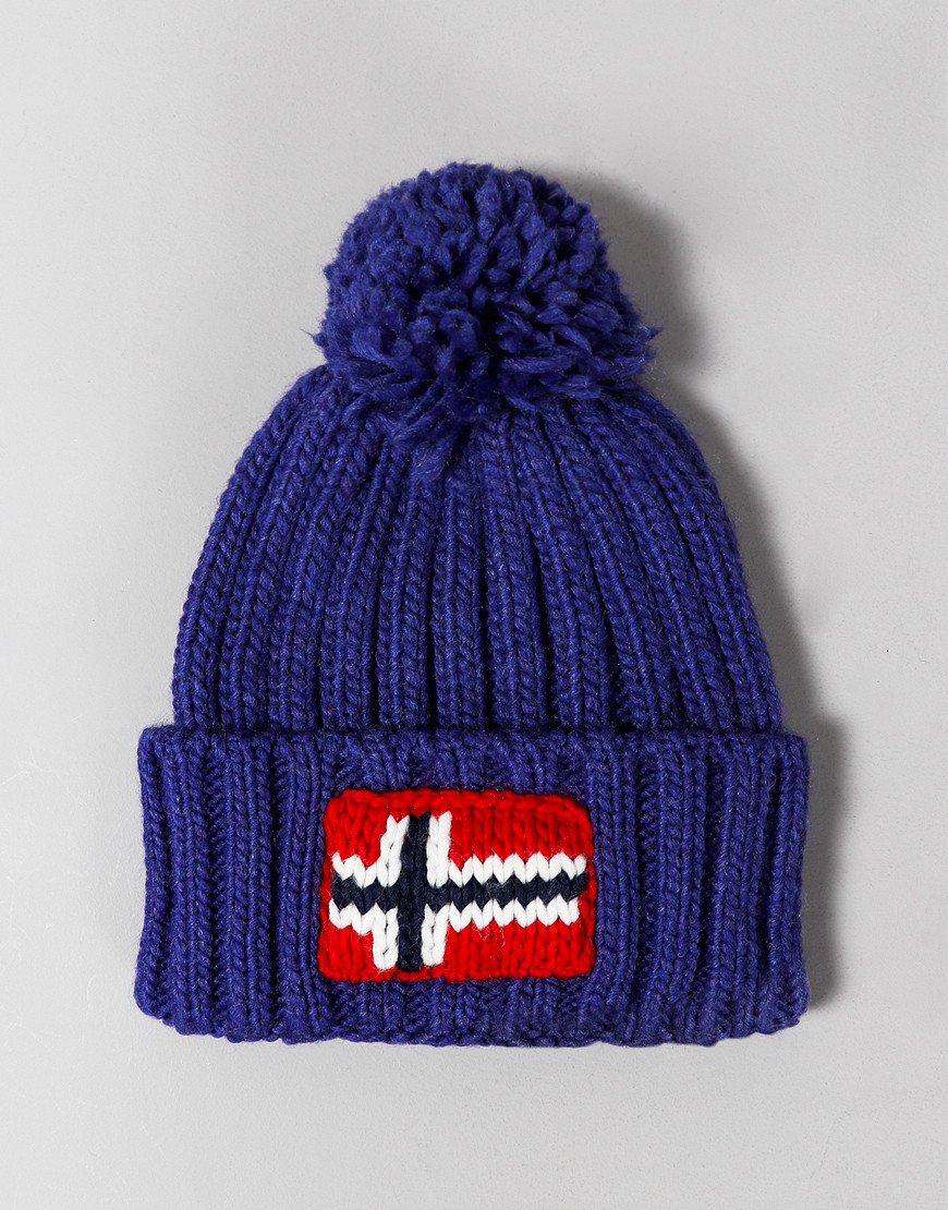 Napapijri Semiury 2 Bobble Hat Clematis Blue