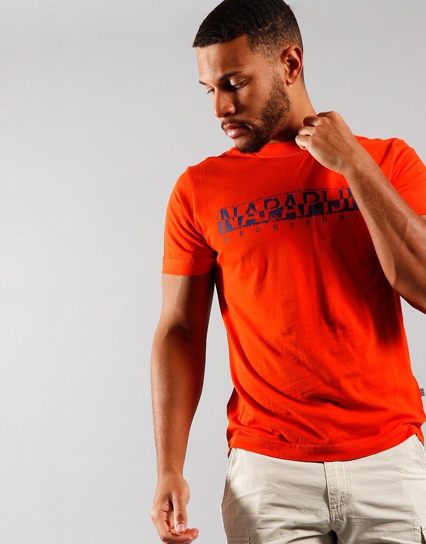 Napapijri Solanos T-shirt  Orangeade